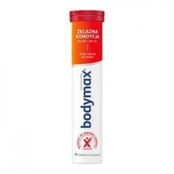 Bodymax Żelazna Kondycja tableteki musujące 20tabl.