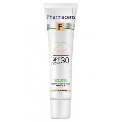 Pharmaceris F MINERALNY DERMO-FLUID MATUJĄCY SPF 30 MATT-MINERAL-CORRECTION 20 natural 30 ml