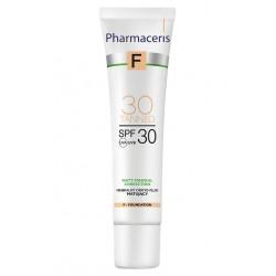 Pharmaceris F MINERALNY DERMO-FLUID MATUJĄCY SPF 30 MATT-MINERAL-CORRECTION 30 Tanned 30 ml