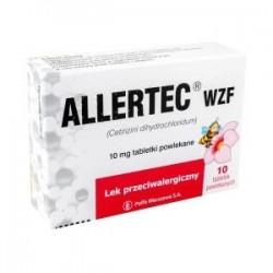 Allertec WZF 10 mg tabletki powlekane 10 tabl.