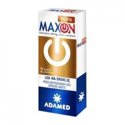Maxon Forte 50 mg 2 tabletki powlekane