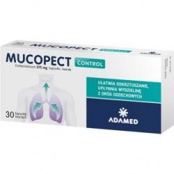 Mucopect Control 375 mg kapsułki 30kaps.