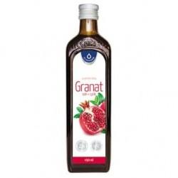 Granat sok + cynk płyn 490ml