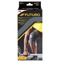 Futuro Sport Regulowana opaska kolana kolor czarny 1op.