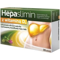 Hepaslimin z Witaminą D3 tabletki 30 tabl.