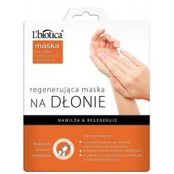 L'biotica Regenerująca maska na dłonie w postaci nasączonych rękawiczek 26g (1 para)
