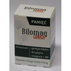 Bilomag Plus 120 mg kapsułki 60 kaps.