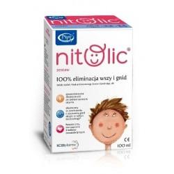 Pipi Nitolic zestaw eliminacja wszy i gnid 100 ml