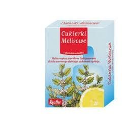 Cukierki melisowe z ekstratem melisy 50g