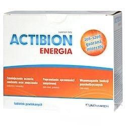Actibion Energia tabletki powlekane x 30 tabl.