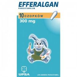 Efferalgan 300 mg czopki 10 czopków