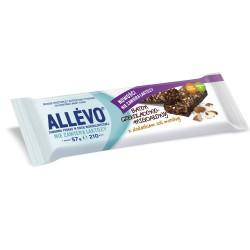 Allevo  baton czekoladowo - migdałowy z dodatkiem soli morskiej 1szt.