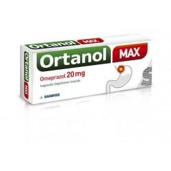 Ortanol Max 20mg kapsułki 7 kaps.