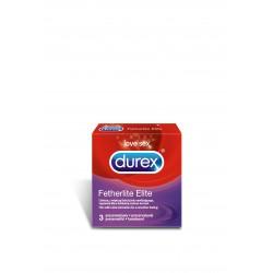 Durex Fetherlite Elite prezerwatywy ultracienkie 3 sztuki