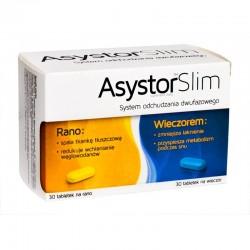 Asystor Slim tabletki 30 tabl. na rano + 30 tabl. na wieczór 1 op.