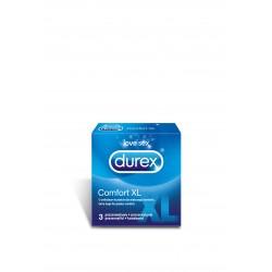 Durex Comfort XL prezerwatywy o unikalnym kształcie 3 sztuki