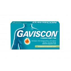 Gaviscon o smaku miętowym tabletki do rozgryzania i żucia 16 tabl.