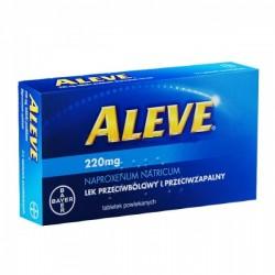 Aleve 220mg tabletki powlekane 24 tabl.
