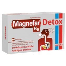 Magnefar B6 Detox 10 tabl.