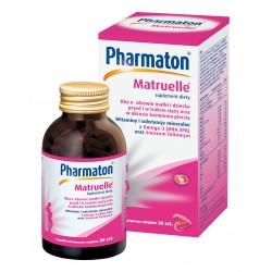 Pharmaton Matruelle kapsułki 30 kaps. + zestaw materiałów dla kobiet w ciąży i karmiących