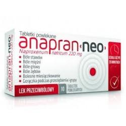 Anapran Neo 220 mg tabletki powlekane 10 tabl.