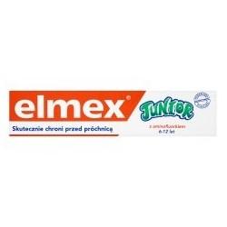 Elmex Junior pasta do zębów 6-12 lat 75 ml