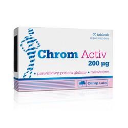 Chrom Activ  200 µg tabletki 60 tabl.