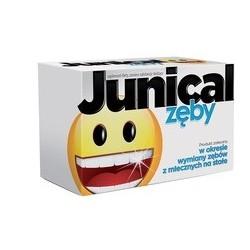 Junical Zęby tabletki do ssania 30 tabl.