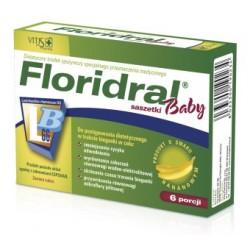 Floridral Baby saszetki o smaku bananowym 6 sasz.