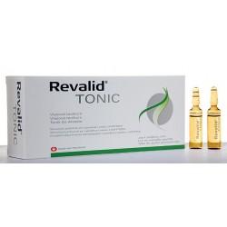 Revalid Tonik do stosowania przy problemie wypadających i łamliwych włosów  6 ml 20 amp.