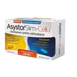 Asystor Slim Cellu tabletki 30 tabl. na rano + 30 tabl. na wieczór 1 op.