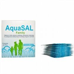 AquaSAL Family bezsmakowy 10 sasz.