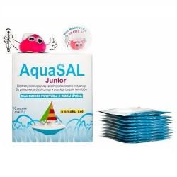 AquaSAL Junior o smaku coli 10 sasz.