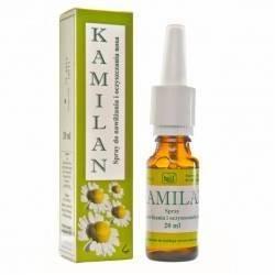 Kamilan spray do nawilżania i oczyszczania nosa 20 ml