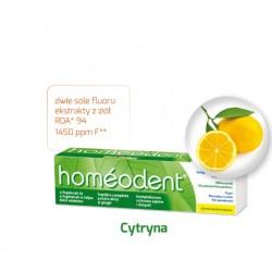 Homeodent Cytryna Kompleksowa ochrona zębów i dziąseł pasta do zębów 75 ml
