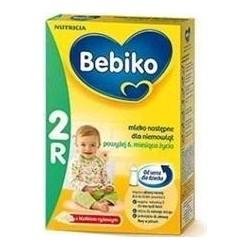 Bebiko 2 R mleko następne z kleikiem ryżowym proszek 800 g