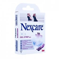 Nexcare Gel Strip Big plastry żelowe na pęcherze małe 6 plastrów 1 op.