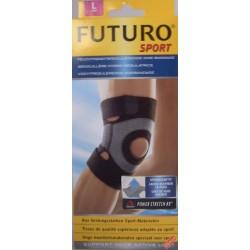 Futuro Sport Stabilizator kolana ze wzmocnieniem rzepki rozmiar L kolor czarny 1op.