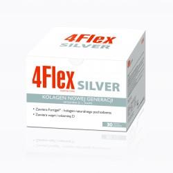 4 Flex Silver Kolagen Nowej Generacji Witamina D + Wapń saszetki 30 sasz.