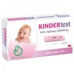 KInder Test test ciążowy płytkowy 1szt.