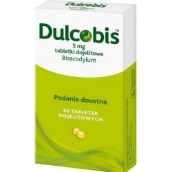 Dulcobis 5 mg tabletki dojelitowe 40 tabl.