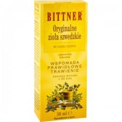 Bittner Oryginalne Zioła Szwedzkie 50 ml