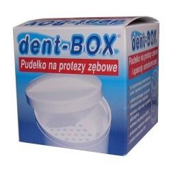 Dent-box pudełko do protezy zębowej 1szt.