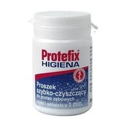 Protefix Higiena Proszek szybko-czyszczący do protez zębowych 80g