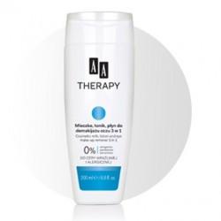AA Therapy Mleczko, tonik, płyn do demakijażu oczu 3 w 1 200 ml