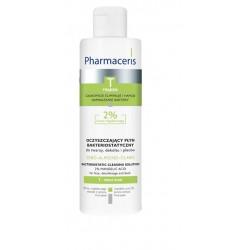 Pharmaceris T SEBO-ALMOND-CLARIS oczyszczający płyn bakteriostatyczny do twarzy, dekoltu i pleców 2% kwasu migdałowego 190 ml
