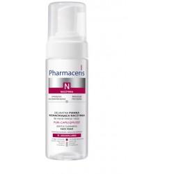 Pharmaceris N PURI-CAPILIQMUSSE delikatna pianka wzmacniająca naczynka do mycia twarzy i oczu 150 ml