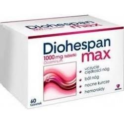 Diohespan max 1000 mg tabletki 60 tabl.