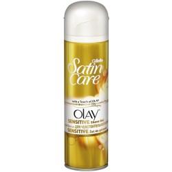 Gillette Satin Care Touch of Olay Żel do golenia 200 ml