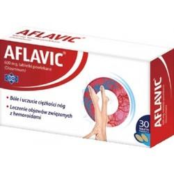 Aflavic 600 mg tabletki 30 tabl.